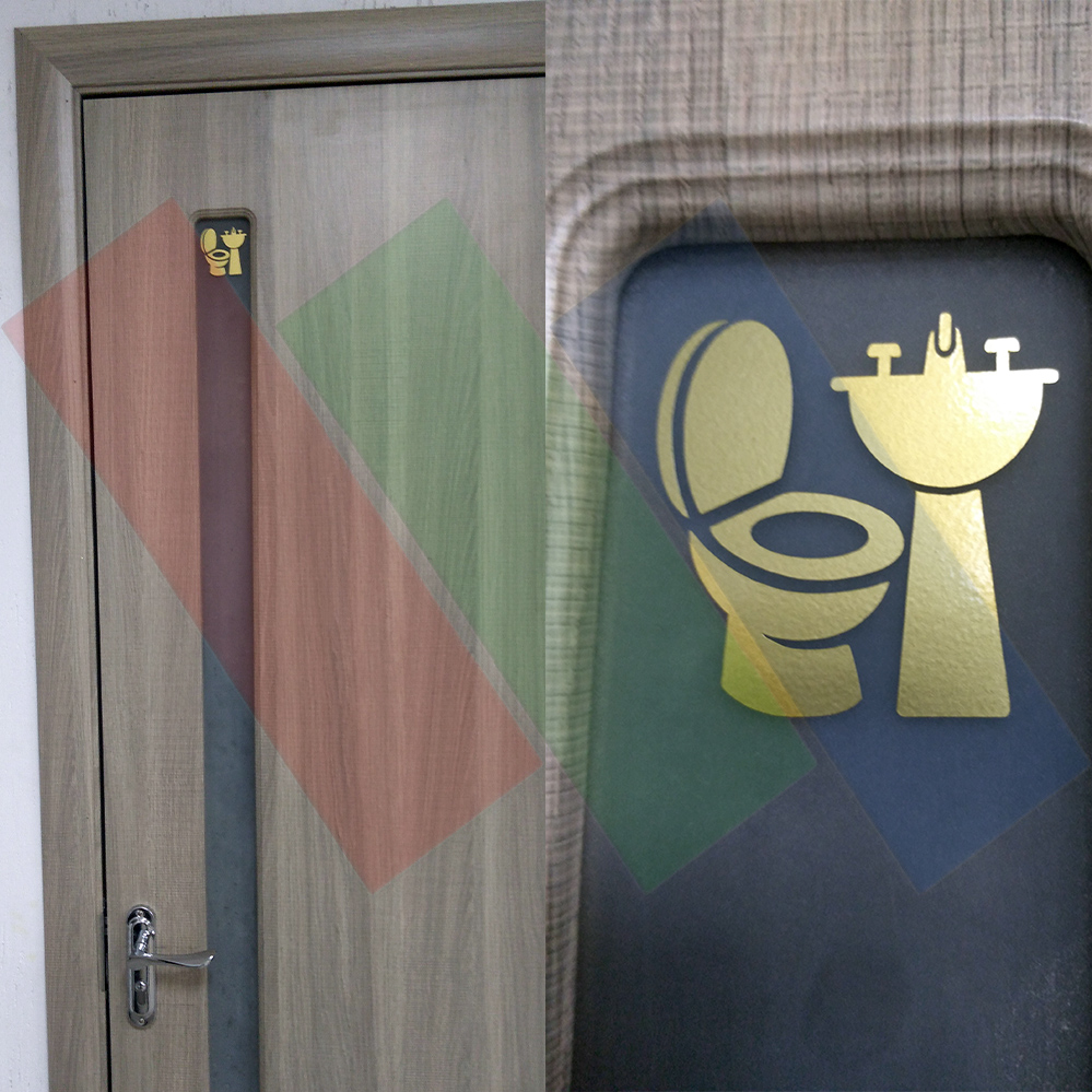 Номерки и значки на двери кабинетов